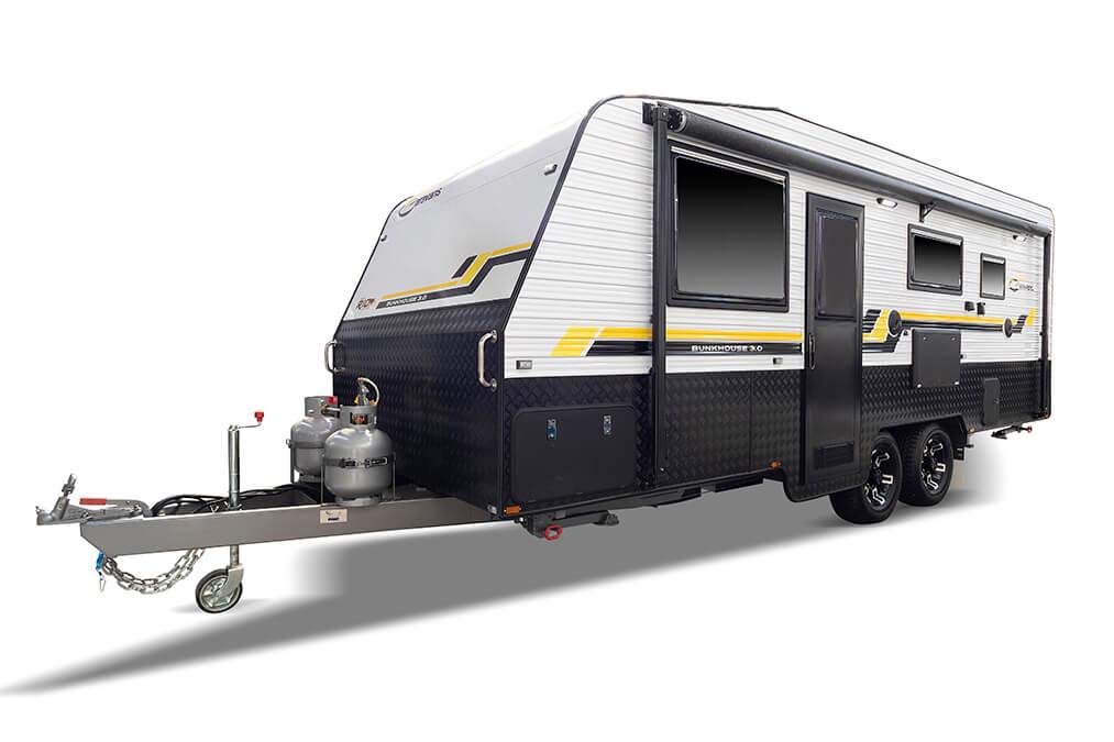 Bunkhouse-30-Just-Caravans-Front Right